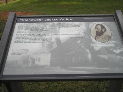 """Stonewall"" Jackson's Arm marker image. Click for full size."