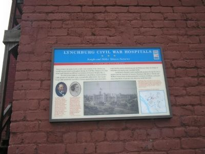 Lynchburg Civil War Hospitals  Civil War Trail marker image. Click for full size.