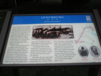 Lynchburg - Early and Hunter Civil War Trails marker image. Click for full size.