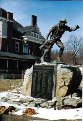 Doughboy Monument - All Wars Memorial image. Click for full size.
