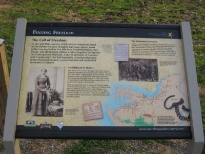 Finding Freedom Marker image. Click for full size.