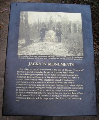 Jackson Monuments Marker image. Click for full size.