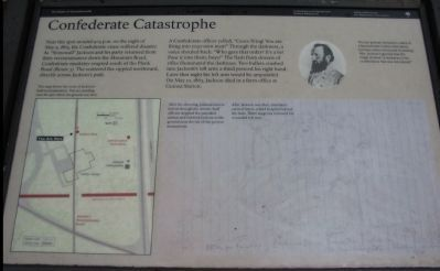 Confederate Catastrophe Marker image. Click for full size.