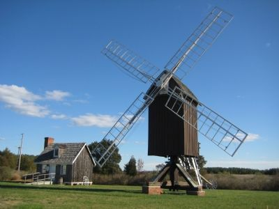 Spocott Windmill image. Click for full size.