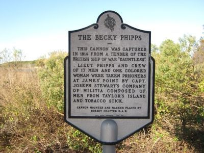 The Becky Phipps Marker image. Click for full size.