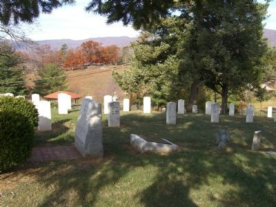 To honor our Confederate Soldiers and Unmarked Graves Markers image. Click for full size.