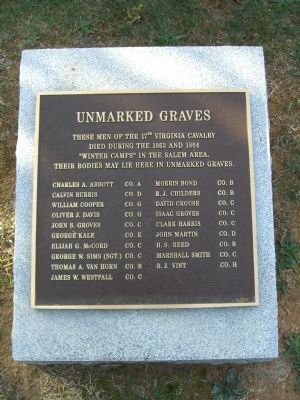 Unmarked Graves Marker image. Click for full size.