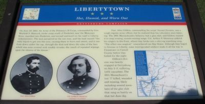 Libertytown Marker image. Click for full size.