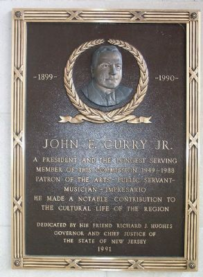 John E. Curry Jr. Marker image. Click for full size.