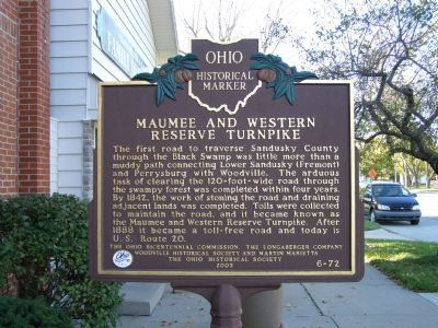 Maumee and Western Reserve Turnpike Side image. Click for full size.