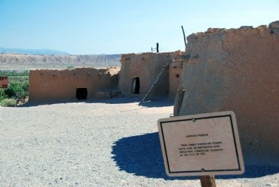 Anasazi Pueblos (located behind museum) image. Click for full size.
