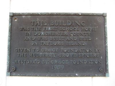 First School House Marker image. Click for full size.