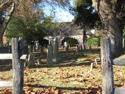 Trinity Graveyard image. Click for full size.