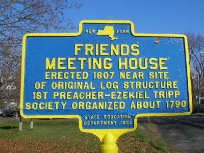 Friends Meeting House image. Click for full size.