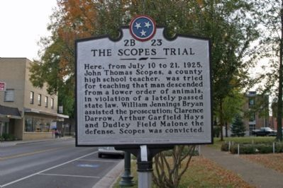 The Scopes Trial - Looking South image. Click for full size.