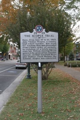 The Scopes Trial image. Click for full size.