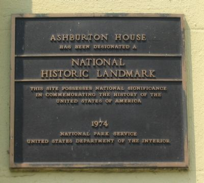 Ashburton House Marker image. Click for full size.