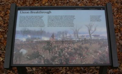 Union Breakthrough Marker image. Click for full size.