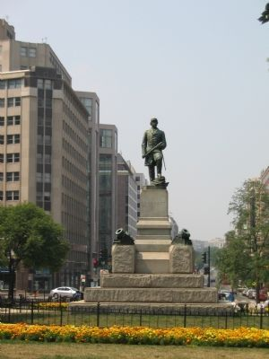 Admiral Farragut Statue image. Click for full size.