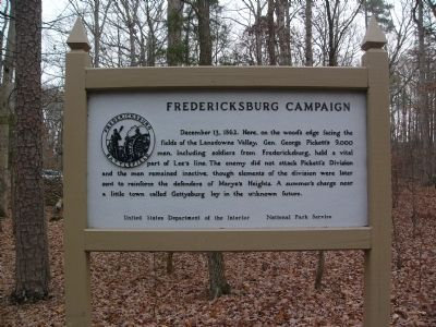 Fredericksburg Campaign Marker image. Click for full size.