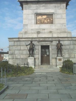 Front of the Trenton Battle Monument image. Click for full size.