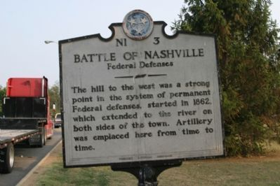 Battle of Nashville - Back image. Click for full size.