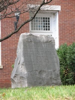 Commemorating the Treaty of Holston Marker image. Click for full size.