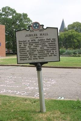 Jubilee Hall Marker image. Click for full size.