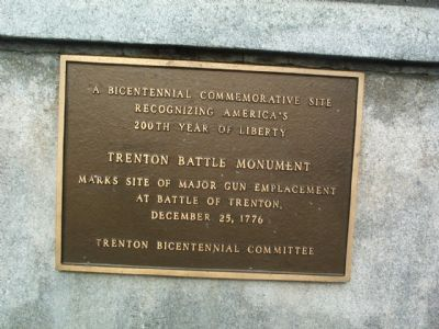 Trenton Battle Monument Marker image. Click for full size.