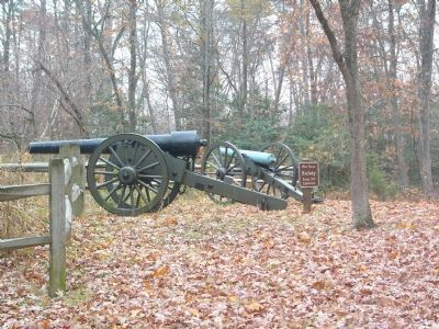 Cannons in Position image. Click for full size.