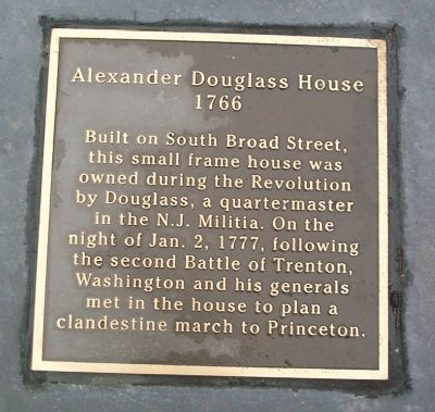 Alexander Douglass House 1766 image. Click for more information.