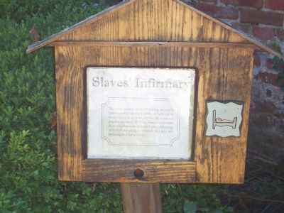 Slaves' Infirmary on His Lordship's Kindness image. Click for full size.