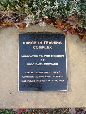 Range 14 Training Complex Marker image. Click for full size.