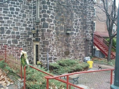 The back of the Mill Hill Playhouse. image. Click for full size.