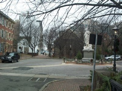 Douglass Plaza and the Mill Hill Historic District image. Click for full size.
