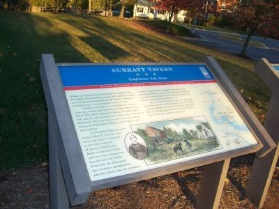 Civil War Trails Surratt Tavern Marker image. Click for full size.