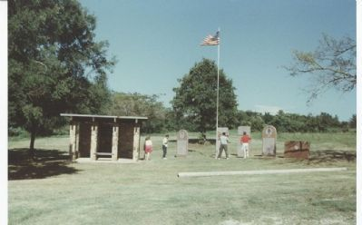 Monument Park at Honey Springs Battlefield image. Click for full size.