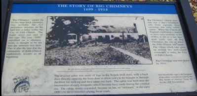 The Story of Big Chimneys Marker image. Click for full size.