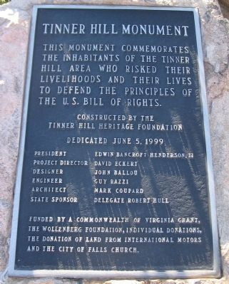 Left Side Plaque of Monument image. Click for full size.