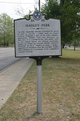 Hadley Park Marker image. Click for full size.