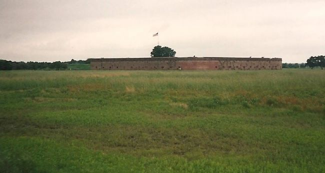 Fort Pulaski from the Exterior image. Click for full size.