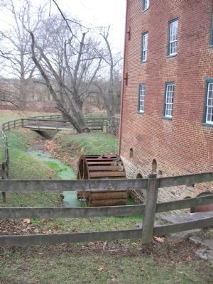 The Water Wheel and Mill Race image. Click for full size.