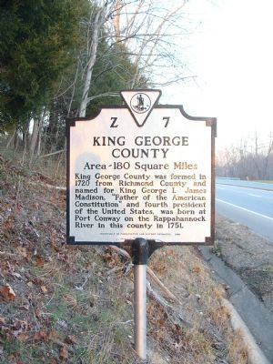 King George County Face image. Click for full size.