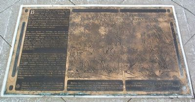 The Battles of Trenton, Turning Point of the Revolution Marker image. Click for full size.