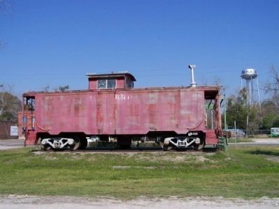 """The Red Caboose"" image. Click for full size."