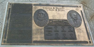Cooper & Hewitt ….. Iron & Steel Marker image. Click for full size.