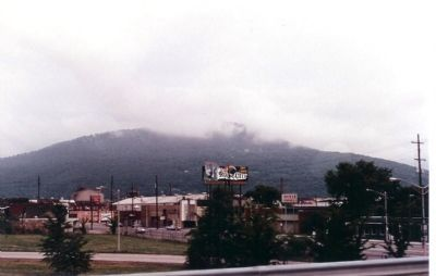 "Nearby Lookout Mountain, with fog. ""Battle above the clouds"" fought here image. Click for full size."