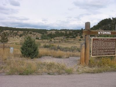 Site of Field City Marker image. Click for full size.