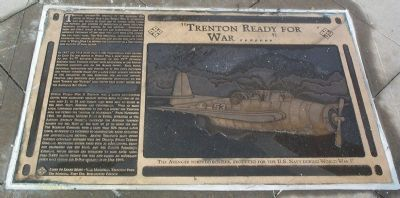 """Trenton Ready for War ……."" Marker image. Click for full size."