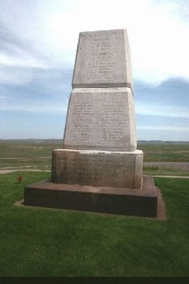Little Bighorn Battlefield National Monument Marker image. Click for full size.